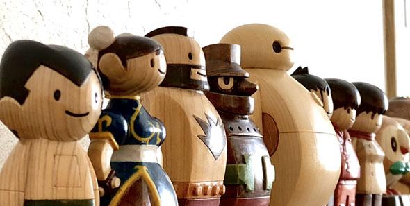 木彫りオールスター