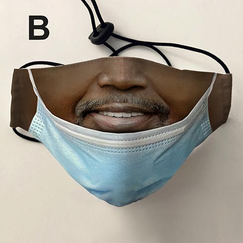 """マスクの付け方、間違ってない? """"あごマスク""""風のジョークデザインマスクを発売"""