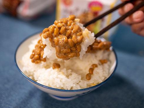 生姜焼納豆ご飯