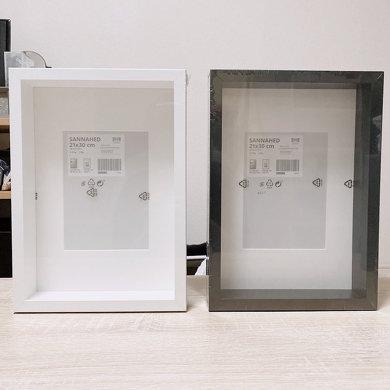 IKEA フレーム グッズ ディスプレイ
