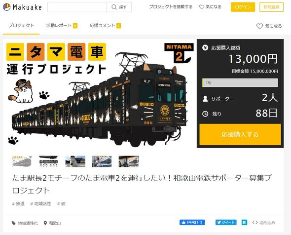 たま電車2 和歌山電鐵 貴志川線