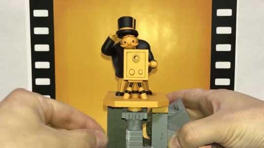 金曜ロードSHOW! オープニング 再現 映写機 おじさん からくり人形