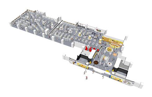カプセルトイ機の設置台数3000面で世界最大級! 「ガシャポンのデパート 池袋総本店」オープン