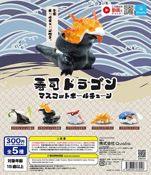 寿司ドラゴンのフライヤー