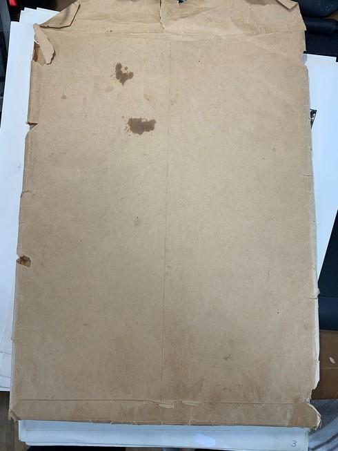 ボロボロの封筒