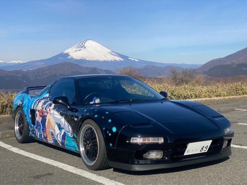 痛車 ラブライブ!サンシャイン!! 松浦果南 NSX