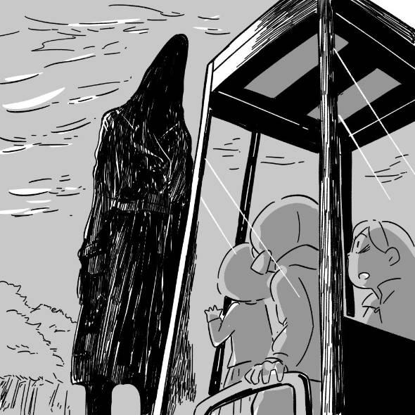 フォロワーさんの「本当にあった怖い話」その34 漫画