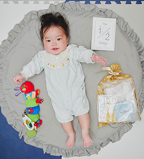 ニッチェ江上敬子 出産 結婚 長男 息子 とっちゃん 顔出し ブログ 写真 画像
