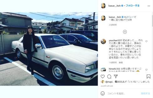伊藤かずえ シーマ 日産 GT-R スカイライン
