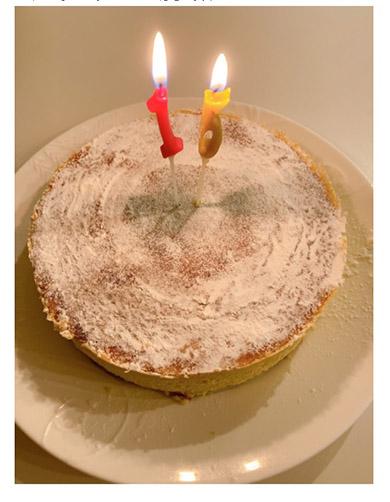 知念里奈 長男 誕生日