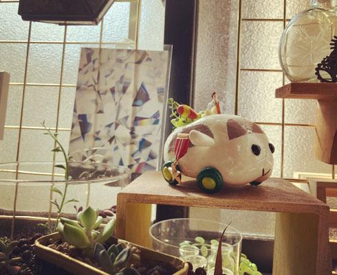 モルカー植木鉢