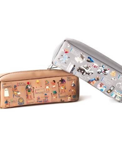 箱型ペンケース 各1800円