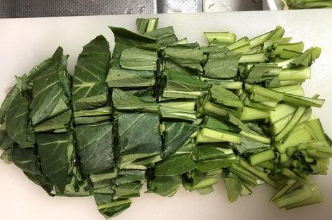 小松菜冷凍保存