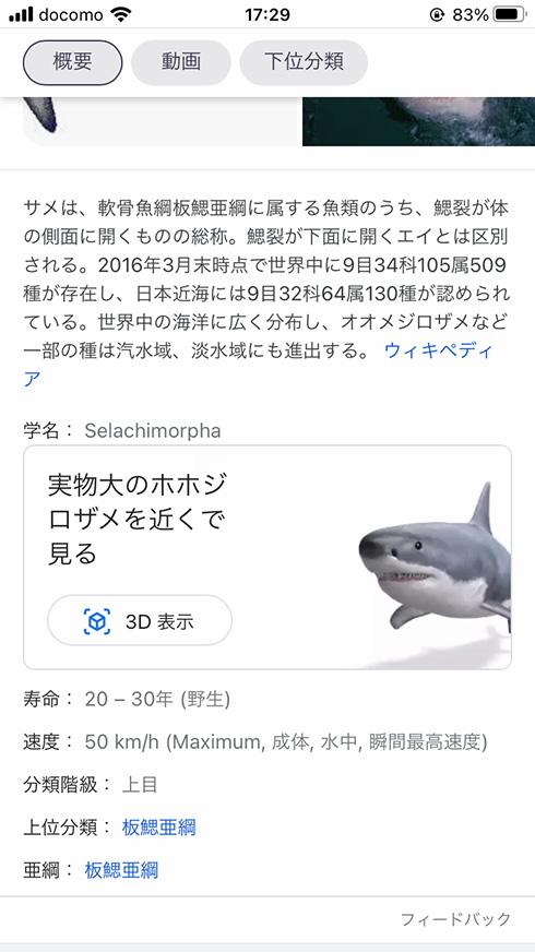 部屋の中にサメが……! 好きなときにいつでもサメを召喚できるGoogleアプリのAR機能が登場