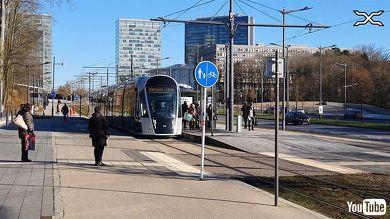 鉄道 Youtube 路面電車 ルクセンブルク ヨーロッパ