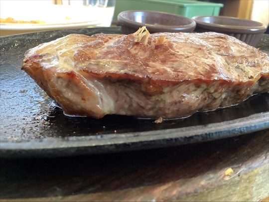 サイゼリヤ ラムのランプステーキ