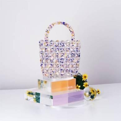 【DAHLIA】BEADS KNITTING BAG 150000円