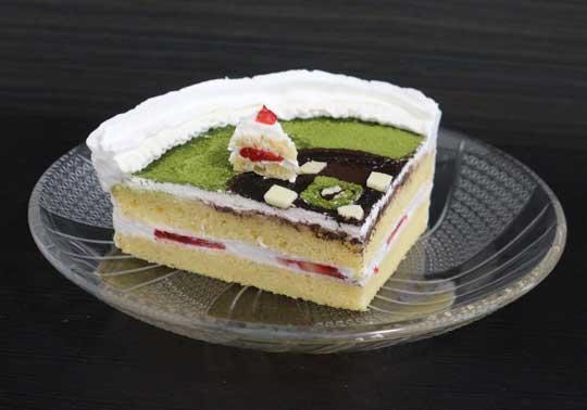 ショート ショートケーキ 手作り 野球 かわいい トンツカタン お抹茶