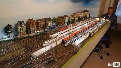 鉄道 海外 YouTube 模型 ヨーロッパ