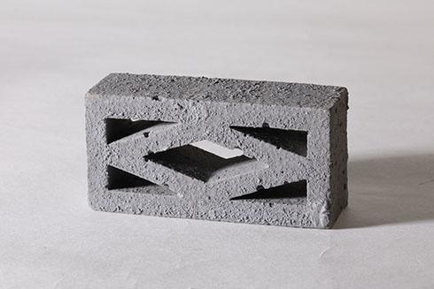 積め!ブロック塀 透かしブロック(菱形)