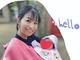 マナカナ・三倉茉奈、2カ月延期のお宮参りでママの顔 ニッコリ母娘ショットに「ホント幸せそうで良い光景」
