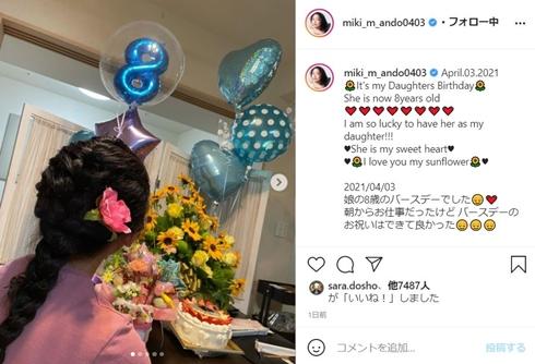 安藤美姫 娘 誕生日 何歳 現在