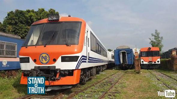 鉄道 海外 YouTube フィリピン ディーゼルカー