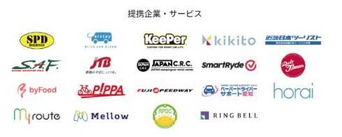 数多くの企業と提携