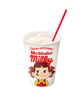 マックシェイク ミルキーのままの味 カップ1