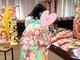 """菊池桃子、振袖姿の19歳長女と2ショット 成人式で""""大人の階段""""上る娘に感極まり「準備段階なのに泣きそう」"""