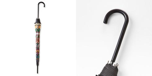 広げればあこがれの世界 大正ロマンなステンドグラスの傘