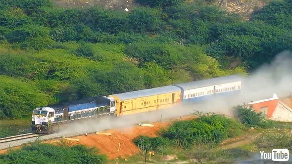 鉄道 海外 YouTube インド 試運転