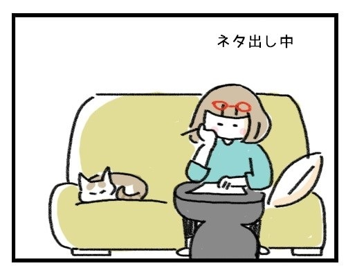 ちゃっかり猫ちゃん