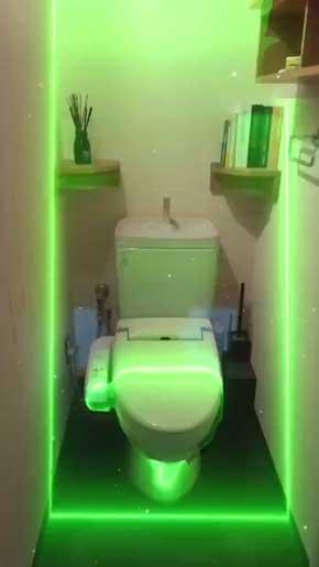 トイレ AR エフェクト iPhone アプリ Clips アゲアゲ