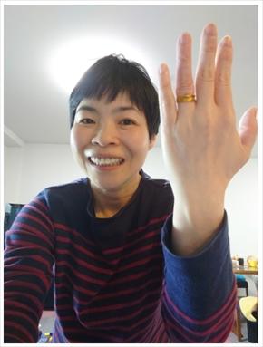山田花子 夫 福島正紀 結婚記念日 結婚指輪 ブログ