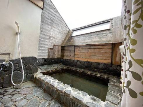 マンションに露天風呂がついている