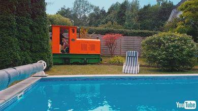 鉄道 海外 YouTube 庭園鉄道 庭 模型