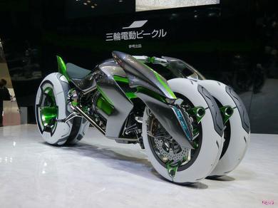 カワサキ 電動3輪