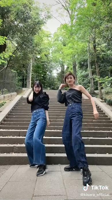 山田優 松村キサラ BTS Dynamite TikTok