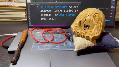 USB木魚