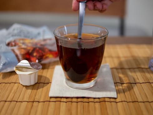 紅茶ポーションでつくった紅茶
