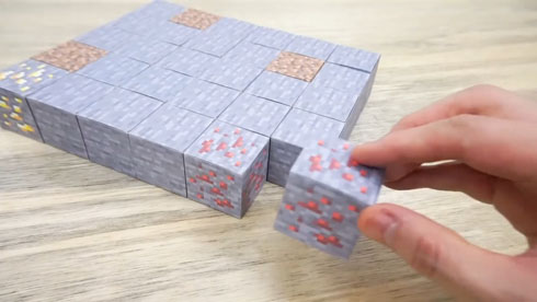 紙マイクラ