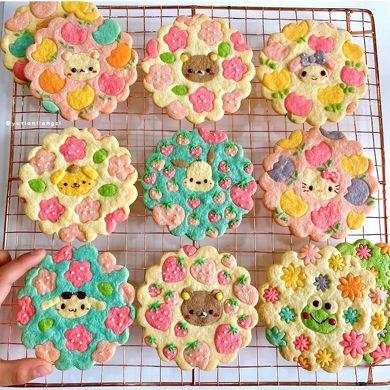 デザインクッキープレート