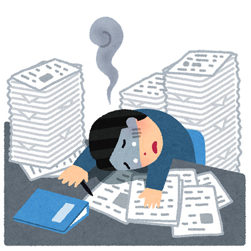 WHO調査で年間74万人以上が働き過ぎで死亡 7割が週55時間越えで働く中年男性