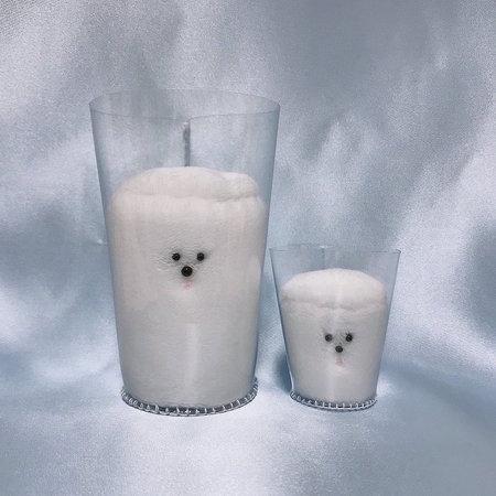 ぬいぐるみ 牛乳