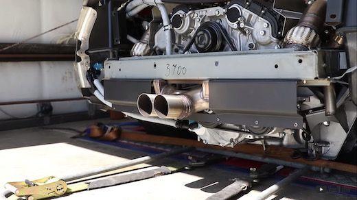 デロリアン エンジン 移植 カスタム V6ツインターボ