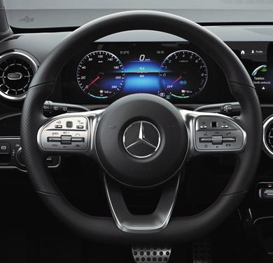 AMGラインステアリング EV