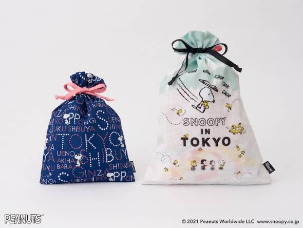 左)巾着M(1760円)、右)巾着L(2200円)