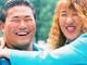 北斗晶、がっしり体形が26年間で15キロ増に 佐々木健介との婚約発表ショットに自虐「お姫様抱っこはキツい」