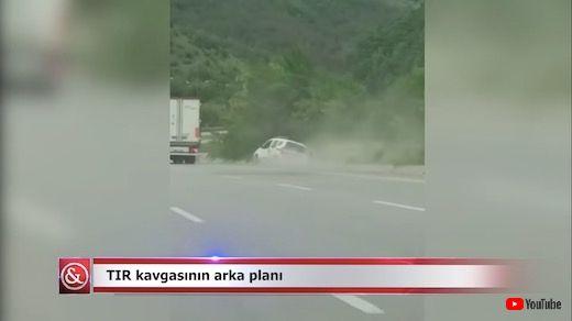 トルコ あおり運転 事故 トラック ミニバン